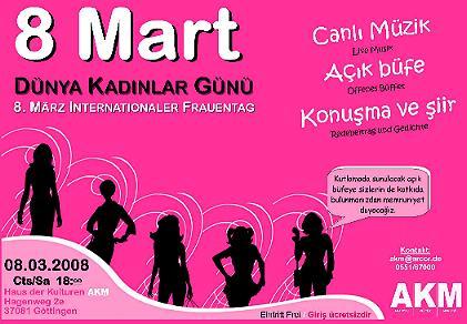 Internationaler Frauentag 8 März Göttingen